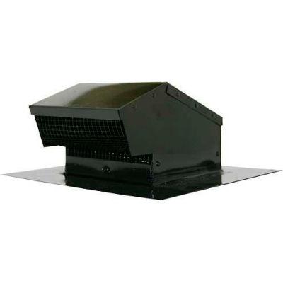 """Speedi-Products Galvanized Roof Cap Flush EX-RCGF 04 Black 4"""""""