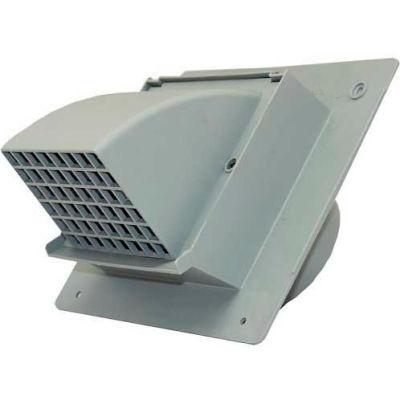 """Speedi-Products Heavy Duty Wall Cap EX-WCHD 04 Gray 4"""""""