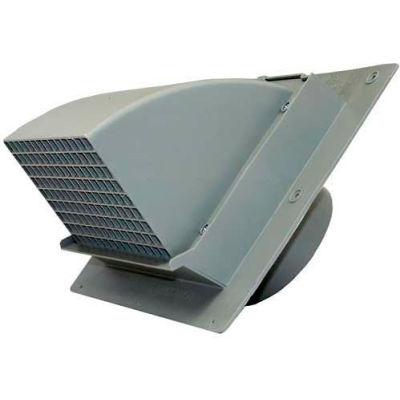 """Speedi-Products Heavy Duty Wall Cap EX-WCHD 06 Gray 6"""""""