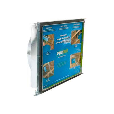 "Speedi-Boot Square To Round Adaptor Register Vent Boot Adj. Hangers SBH-162016 SRA 16"" X 20"" X 16"""