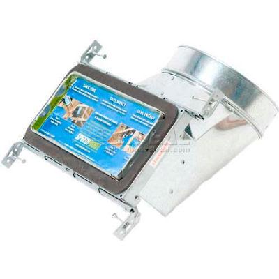 "Speedi-Boot 90° Register Vent Boot Adj. Hangers SBH-4105 NB 4"" X 10"" X 5"""