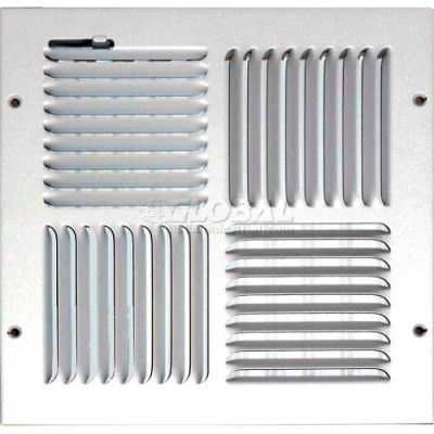 """Speedi-Grille Ceiling Or Wall Register With 4 Way Deflection SG-1010 CW4 10"""" X 10"""""""