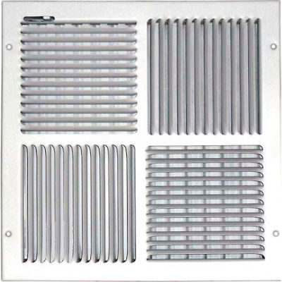 """Speedi-Grille Ceiling Or Wall Register With 4 Way Deflection SG-1212 CW4 12"""" X 12"""""""