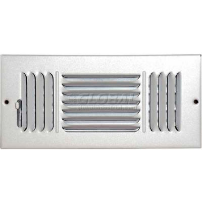 "Speedi-Grille Ceiling Or Wall Register With 3 Way Deflection SG-410 CW3 4"" X 10"""