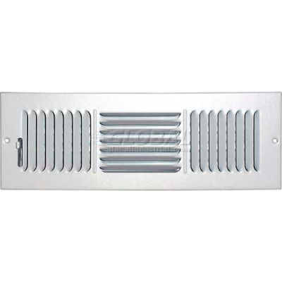 "Speedi-Grille Ceiling Or Wall Register With 3 Way Deflection SG-414 CW3 4"" X 14"""