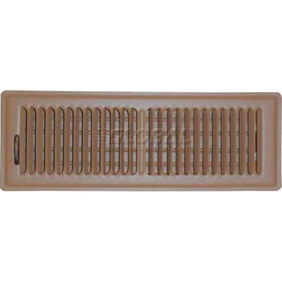 "Speedi-Grille Brown SG-414 FLB Floor Vent Register With 2 Way Deflection 4"" X 14"""