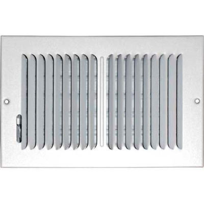 """Speedi-Grille Ceiling Or Wall Register With 2 Way Deflection SG-612 CW2 6"""" X 12"""""""