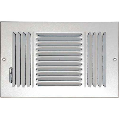 """Speedi-Grille Ceiling Or Wall Register With 3 Way Deflection SG-612 CW3 6"""" X 12"""""""