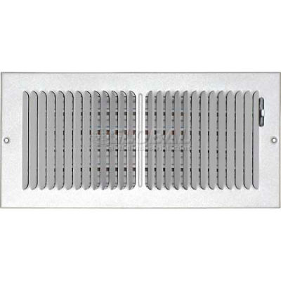 """Speedi-Grille Ceiling Or Wall Register With 2 Way Deflection SG-614 CW2 6"""" X 14"""""""