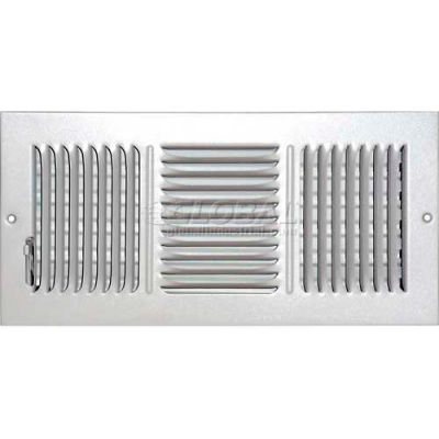 """Speedi-Grille Ceiling Or Wall Register With 3 Way Deflection SG-614 CW3 6"""" X 14"""""""