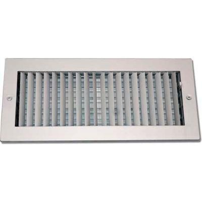 "Speedi-Grille Adjustable Single Deflection Register SG-814 ASD 8"" X 14"""