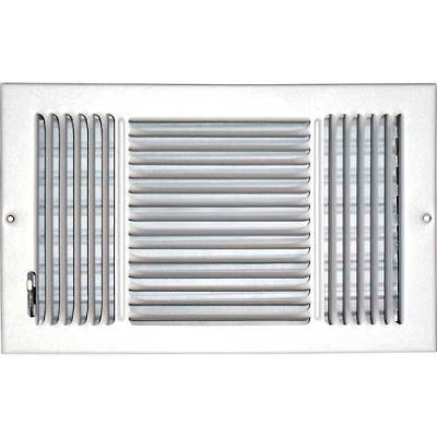 "Speedi-Grille Ceiling Or Wall Register With 3 Way Deflection SG-814 CW3 8"" X 14"""