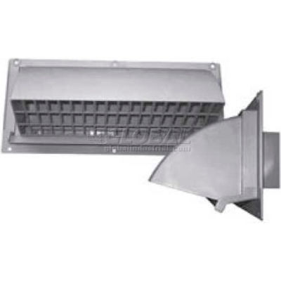 "Speedi-Products Range Hood Wall Vent 3.25"" X 10"" EX-RHVW 310 White"