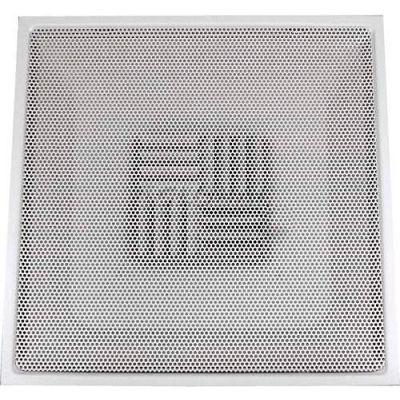 "Speedi-Grille Drop Ceiling T-Bar TB-PAB 10 Adj. Blade Register With Collar 24"" X 24"" X 10"""