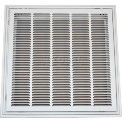 """Speedi-Grille T-Bar Stamped Hinged Face Return Air Filter Grille TB-SFG 24"""" X 24"""""""
