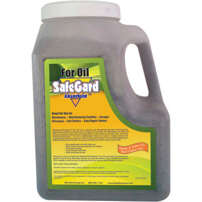 SafeGard Absorbents™ For Oil, 3.5 lbs. Jug