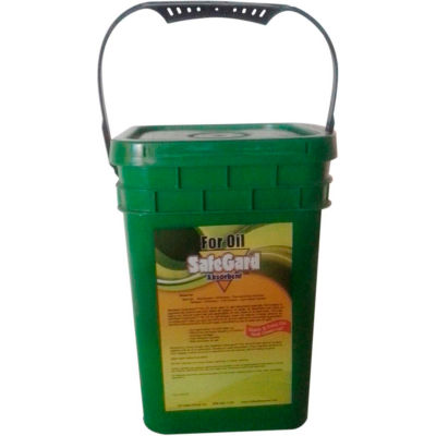 SafeGard Absorbents™ For Oil, 15 lbs. Pail