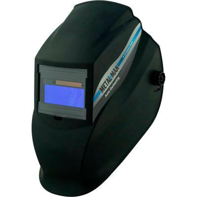 Metal Man AB8100SC - Auto-Darkening Helmet - 9-13 Variable Shade Control