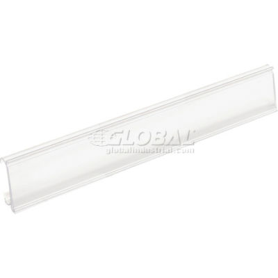 "Nexel® ABM48C Clear Label Holder 48""W x 1-1/4""H"