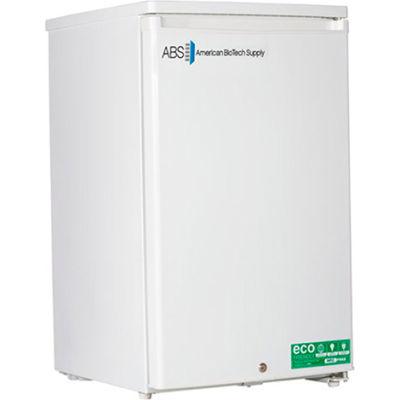 American Biotech Supply Standard Freestanding Undercounter Freezer ABT-HC-UCFS-0420W, 4 Cu. Ft.