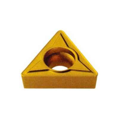 Imported Tpgb-322c-6 Tin Coated Carbide Insert - Pkg Qty 10