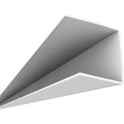 Ceiling Max 8' Wall Bracket 159-00, White - 24/Case