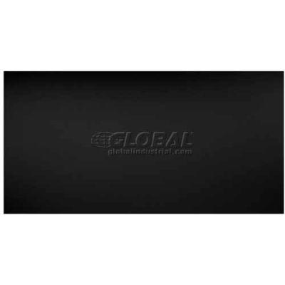 Genesis Smooth Pro PVC Ceiling Tile 745-07, Waterproof & Washable, 2'L X 4'W, Satin Black - 10/Case