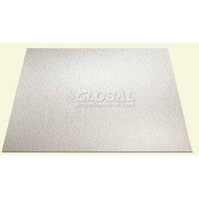 Genesis Stucco Pro Ceiling Panel 760-00, Waterproof & Washable, 2'L X 2'W, White - 12/Case