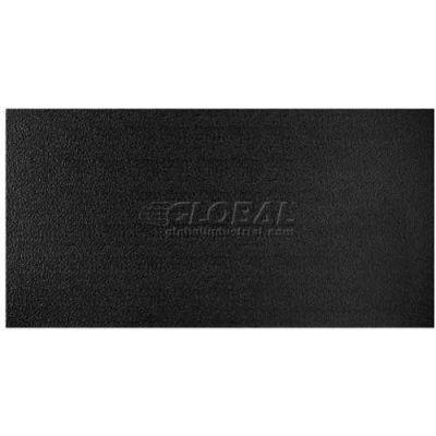 Genesis Stucco Pro PVC Ceiling Tile 765-07, Waterproof & Washable, 2'L X 4'W, Satin Black - 10/Case