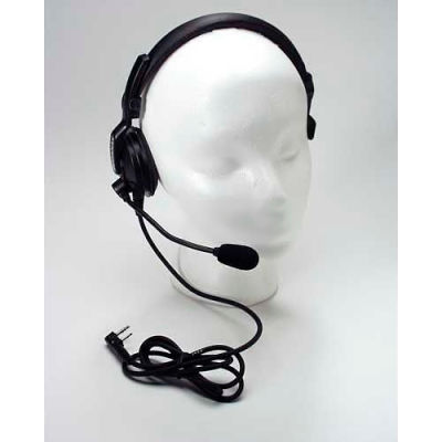 Single Muff Headset w/ Boom Mic