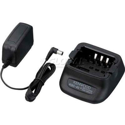 Kenwood Fast Rate Single Unit Dual NiMH & Li-Ion Charger, KCS-43K