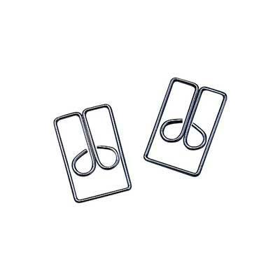 "Acco® Regal Owl Paper Clips, 1"" Length, Silver, 100/Box"