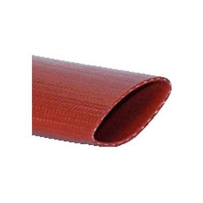 "8"" Medium Duty PVC Lay Flat Discharge Bulk Hose, 20 Feet"