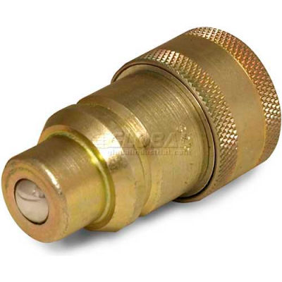 Apache Hydraulic Quick Coupler 39041605, ISO Male Tip To IH Female Body