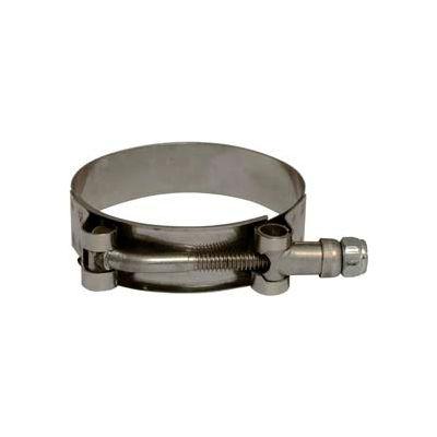 "Apache 43082032 4-9/16"" - 4-15/16"" Stainless Steel Ultra T-Bolt Clamp (UT - 456)"