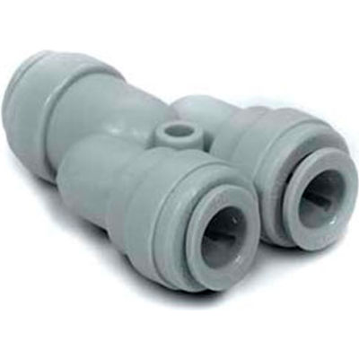 """1/2"""" Two Way Divider - Push-In Fitting - Pkg Qty 10"""