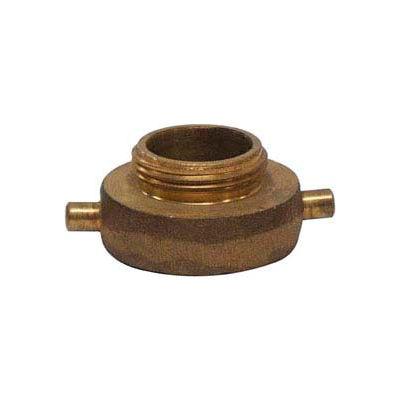 "2-1/2"" FNST x 2-1/2"" MNPSH Brass Hydrant Adapter"