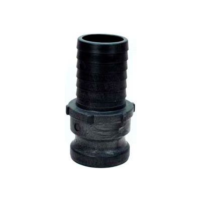 "4"" E Polypropylene Cam and Groove Adapter x Hose Shank"