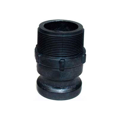 "3"" F Polypropylene Cam and Groove Adapter x Male NPT"