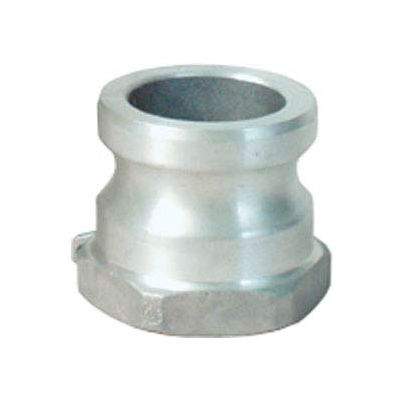 "2-1/2"" Dia. Type A Aluminum Spec Cam and Groove Adapter x Female NPT"