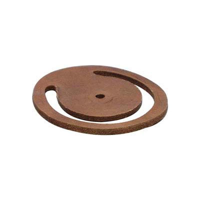 """6"""" Replacement Foot Valve Leather Flapper"""