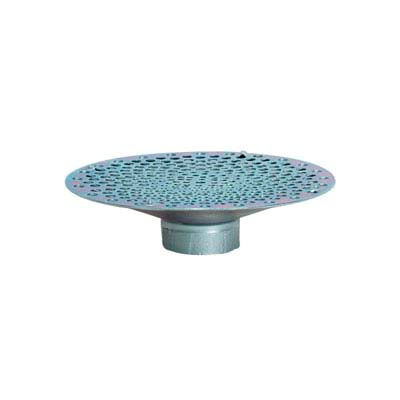 "1-1/2"" FNPT Bottom Hole Plated Steel Skimmer Strainer"
