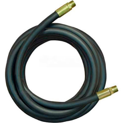"""Apache Hydraulic Hose Assembly 98398330, 100R2AT Cpld., 3500 PSI, 1/2"""" MNPT, 1/2"""" Hose ID X 96""""L"""