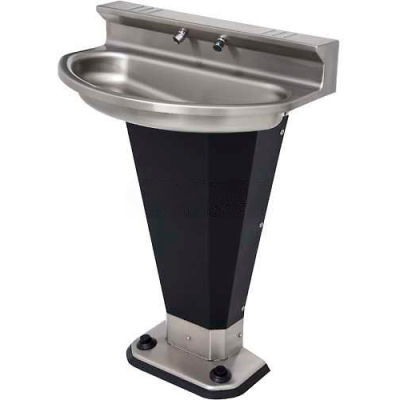 Acorn Engineering Company® Washfountain Eliptical, 2 Stations, Foot Operated