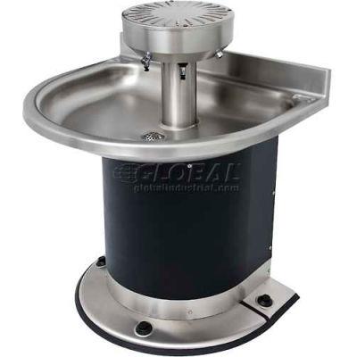 Acorn Engineering Company® Washfountain Semi-Circular, 3 Stations, Foot Operated