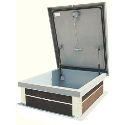 Aluminum Roof Hatch - 24 x 24