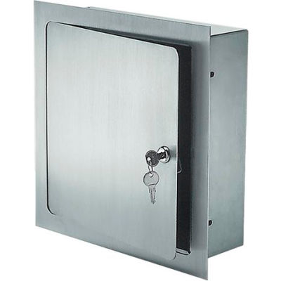 Recessed Valve Box Steel - 12 x 12 x 4