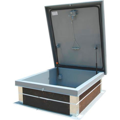 Galvanized Roof Hatch - 24 x 24