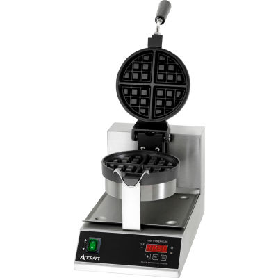 "Adcraft BWM-7/R - Belgian Waffle Maker, 7"" Round"