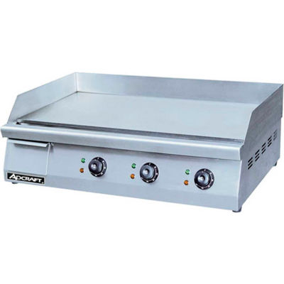 "Adcraft GRID-30 - Griddle, Heavy Duty, Electric, 30""W, 208/240V"